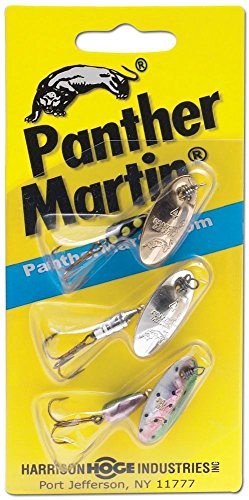 Panther Martin WT3 Western Trout, Varies (Best Inline Spinners For Trout)
