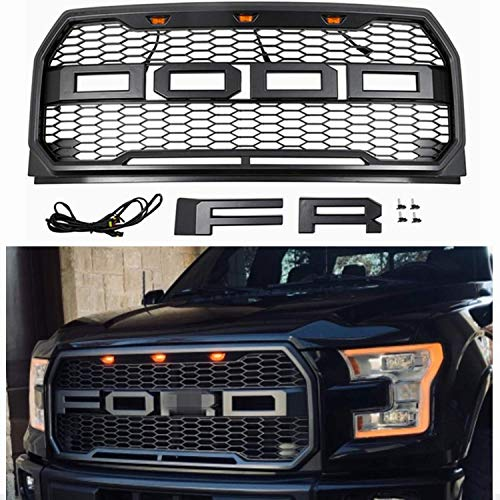 2015 Ford F150 Grill >> Seven Sparta Front Grill For Ford F150 2015 2016 2017 Import It All