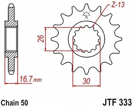 JT Sprockets JTF333.15 15T Steel Front Sprocket