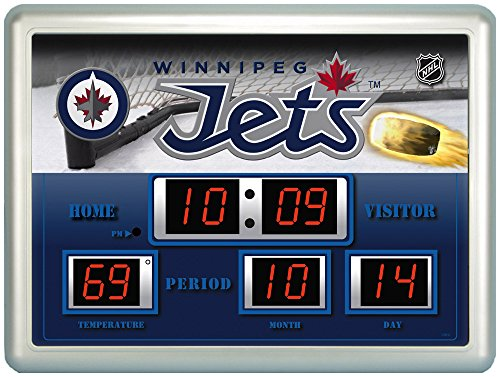 - Winnipeg Jets Scoreboard Wall Clock