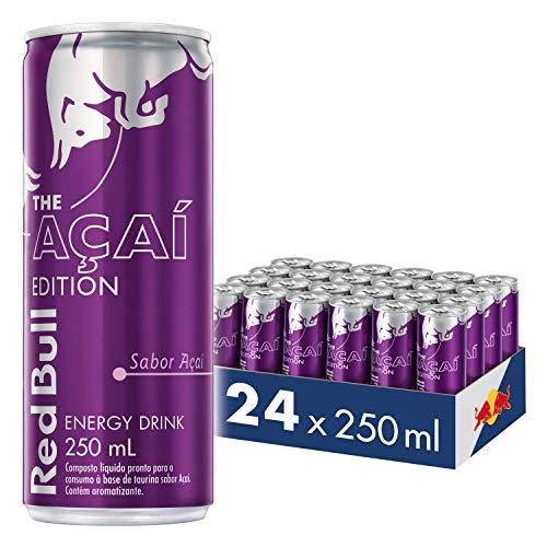 Energético Açaí Red Bull Energy Drink Pack com 24 Latas de 250ml