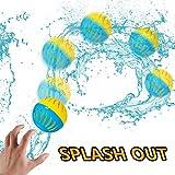 Gejoy 2 Sets Splash Water Out Balloon Water Balloon Wet Balloon Water Game Supplies for Outdoor Indoor Activities