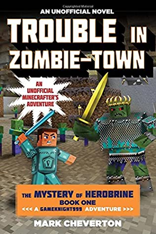book cover of Trouble in Zombie-town