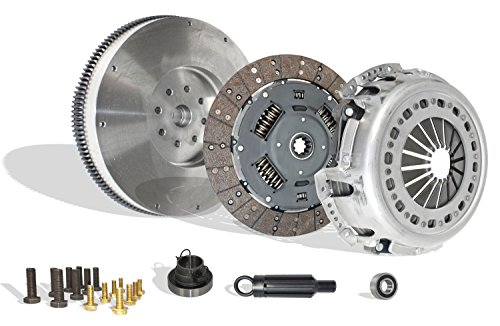 Clutch With Flywheel Conversion Kit Works With Ram 2500 3500 Laramie SLT SXT ST Sport TRX4 2005-2010 5.9L l6 6.7L l6 DIESEL OHV Turbocharged