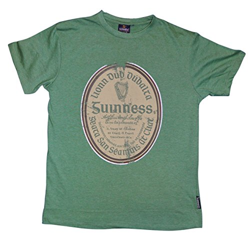 guinness-green-gaelic-label-tee-xx-large