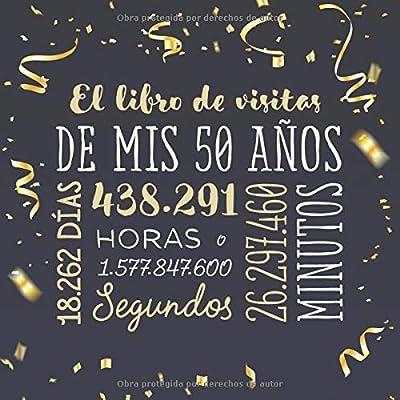 El libro de visitas de mis 50 años: Decoración para celebrar ...