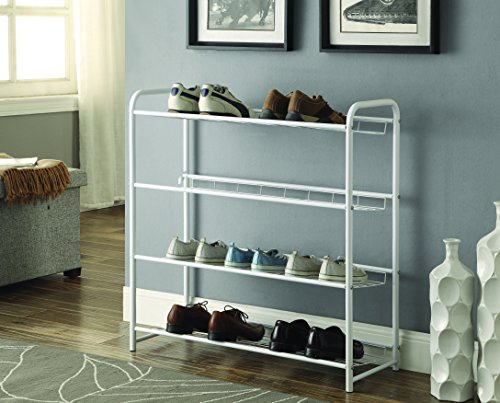 Coaster 950017 Home Furnishings Shoe Rack, White