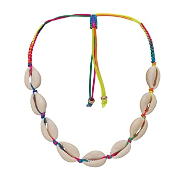 Colorful Braided Necklace For Women
