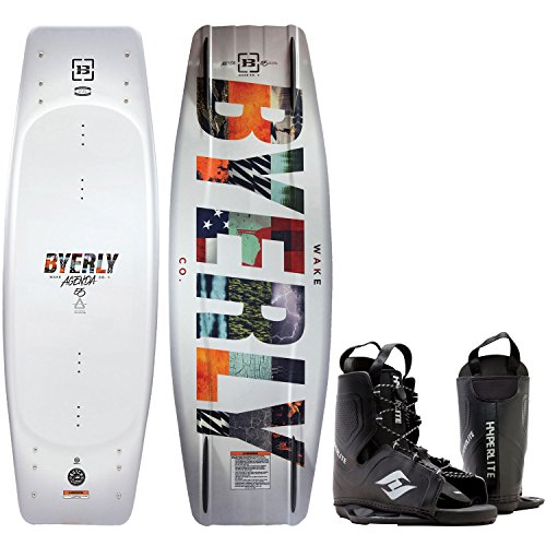 Byerly Agenda Wakeboard + Hyperlite Frequency Bindings Mens One Size 8-12