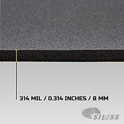 Siless Liner 314 mil 18 sqft Sound Deadening mat - Sound Deadener Mat - Car Sound Dampening Material - Sound dampener - Sound deadening Material Sound Insulation - Car Sound deadening: Automotive