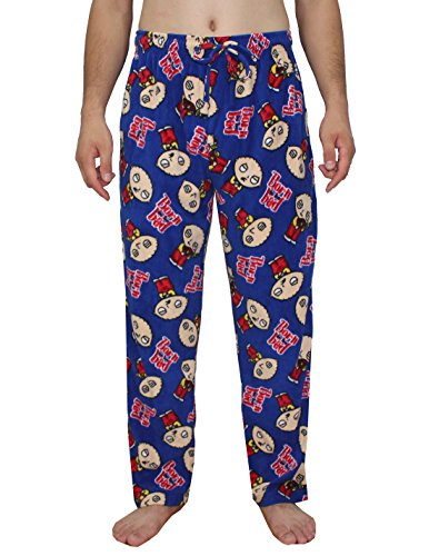 Staying in bed? That's the perfect time to wear your loudest, proudest Family Guy TV Show Pajamas. Our extensive collection of Family Guy TV Show Pajamas in a wide variety of styles allow you to wear your passion around the house.