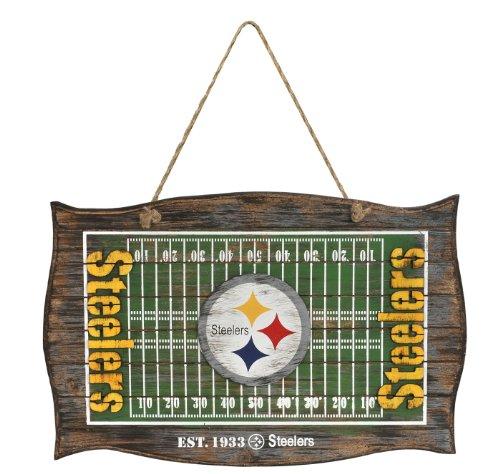 - Pittsburgh Steelers Field Door Wood Sign