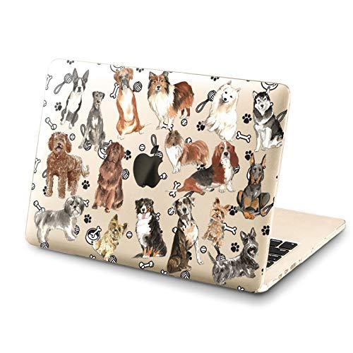 Lex Altern MacBook Corgi Pro Case 15 inch 2018 Air 13 Cute Dogs A1706 A1989 A1369 Clear Bulldog Mac 2017 Retina 12 Hard Cover 11 Puppy Apple Animal Laptop Protective Girls Funny Print Touch Bar Gift