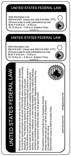 Holographic Service Dog ID + 2 Key Tags | Includes Registration to National Dog Registry by Xpress ID (Image #3)