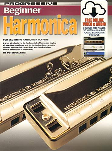 Progressive Harmonica (69171 - Progressive Beginner Harmonica - Book/Online Video & Audio)