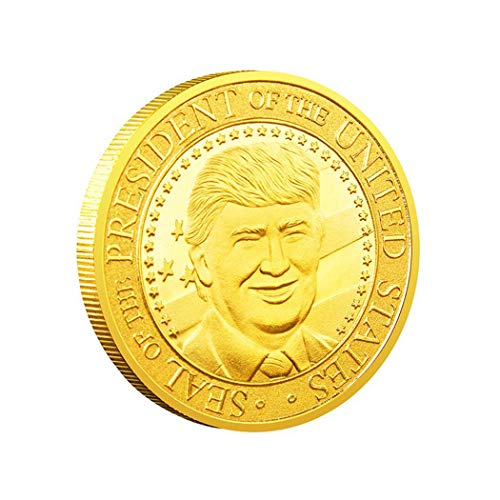 (lazinem 45 Trump American Eagle Commemorative Coin Medal Lucky Coin US Coins)