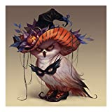 ZOOYA DIY Diamond Painting Halloween Resin Rhinestone Pasted Cross Stitch for Home Decor A354 (11.81''x11.81'')
