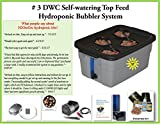 Hydroponic Growing system DWC SELF-WATERING Bubbler Kit # 3-4 H2OtoGro