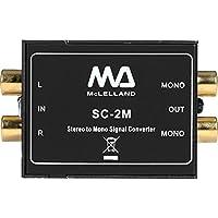 SC2M Stereo to Mono Audio Converter Passive - 9328202020222