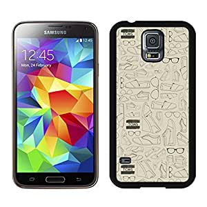 Unique And Luxurious Designed For Samsung Galaxy S5 I9600 G900a G900v G900p G900t G900w Cover Case With TOMS 3 Black Phone Case