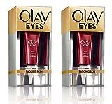 (PACK of 2) ay Eyes Eye Lifting Serum for Under Eye Sagging Skin, 0.5 Fl Oz (15 ml) EACH - Amino-Peptide and Vitamin Complex