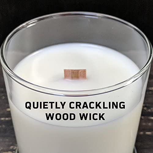 Vanilla Balsam Worthy Promo NFL Jacksonville Jaguars Gifts 8oz Scented Candle Soy Wax w//Wood Wick and Lid