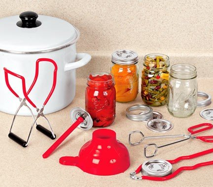 5 PIECE CANNING/STERILIZATION SET
