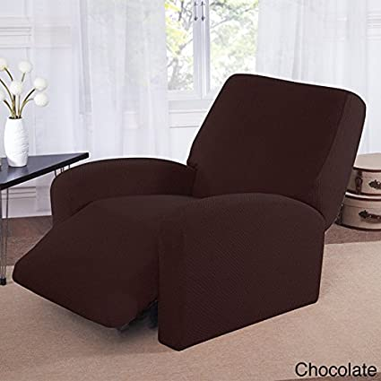 Amazon Com Large Recliner Slipcover For Recliner Chocolate