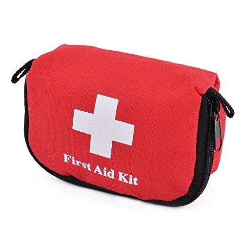 Amazon.com: eDealMax Bolsa de almacenamiento Tela Oxford Inicio deportes al aire Libre de emergencia de Primera respuesta ayuda de salvamento Rojo: Home & ...