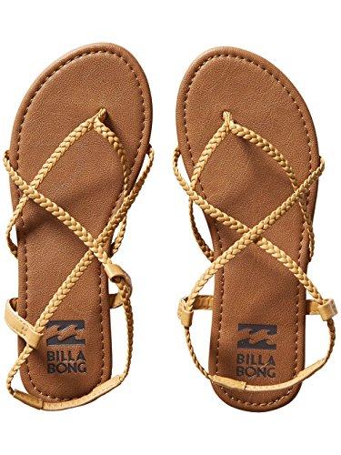 Billabong - Sandalias de vestir para mujer marrón