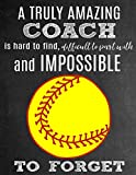 A Truly Amazing Coach Is Hard To Find, Difficult To