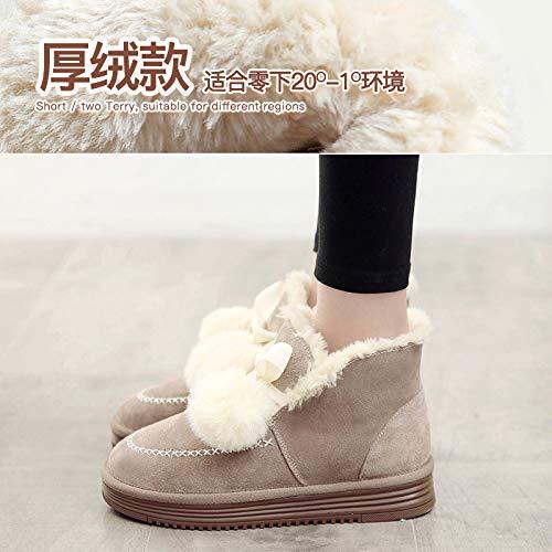 Schneeschuhe weiblichen Sojabohnen Schuhe Frauen Dicke Baumwolle Schuhe für Frauen Schuhe Winter Weichen warmen Stiefel