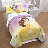 Beauty and the Beast Belle Twin/Full Comforter and TWIN Sheets by Jumping Bean