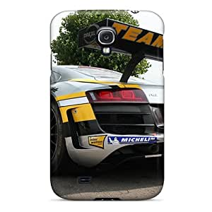 For Galaxy S4 Protector Case Audi R8 Racing Phone Cover