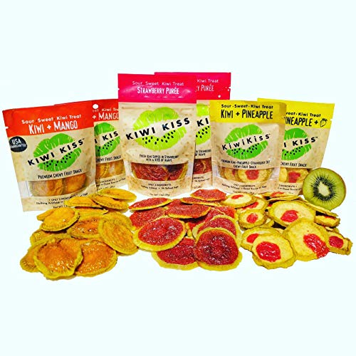 Kiwi Kiss Premium Chewy Fruit Snack (Variety - Kiwi Slices
