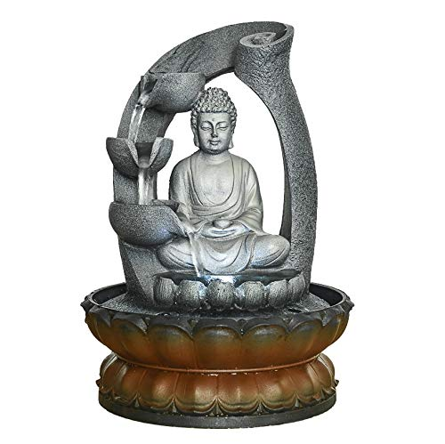 Buddha Fountain With Led Light in US - 7