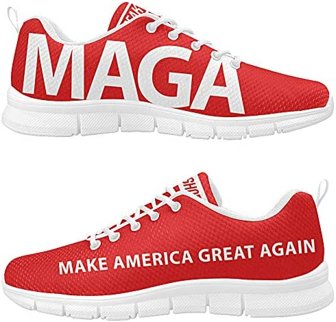 Freaky Shoes MAGA Make America Great Again Custom President Donald Trump Men s Breathable Running Sneakers