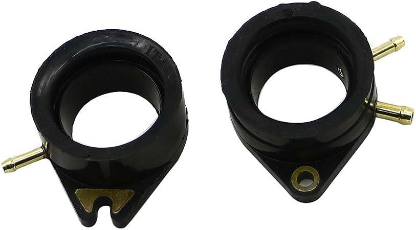 VIRAGO 1100 XV1100 1988-1999 Motofans XV750 Virago 1981-1986 Alpha Rider 2pcs // set Carburetor Interface Adapter Glue Intake Manifold Pad For Yamaha XV700 Virago 1984-1987 XV920 Virago 1981-1983