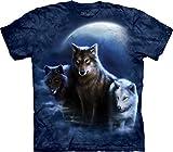 Three Wolf Night Kids T-Shirt-S