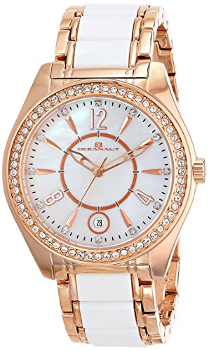 Oceanaut Women's OC5412 Pearl Analog Display Quartz Two T...