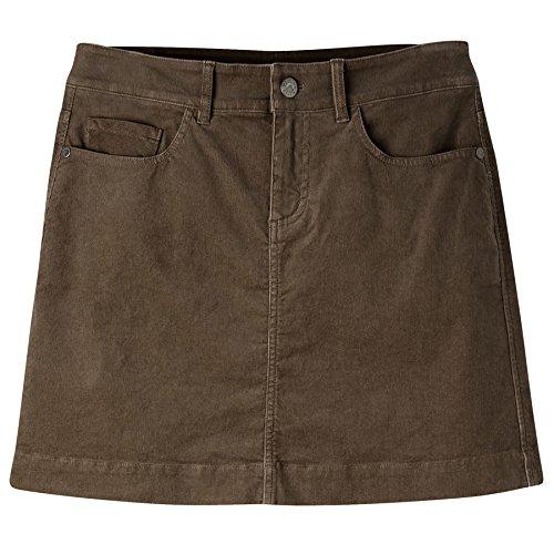 Mountain Khakis Women's Canyon Cord Skirt Slim Fit, Terra, 12W/16-Inch