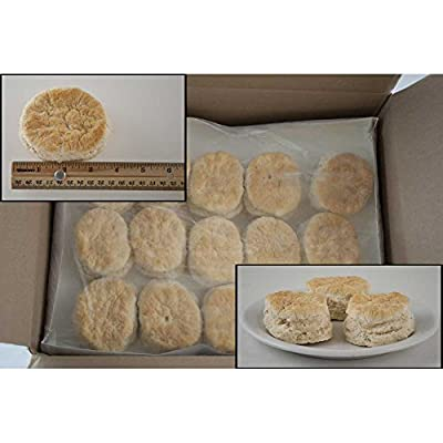 General Mills Pillsbury Baked Easy-Split Golden Buttermilk Biscuit, 2.85 Ounce -- 75 per case.