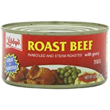 Libby Roast Beef with Gravy, 12-Ounce Cans (Pack of 8)
