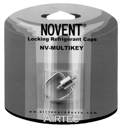 Multi-Key / Locking Cap Tool - Fits All Novent (Hvac Cap)