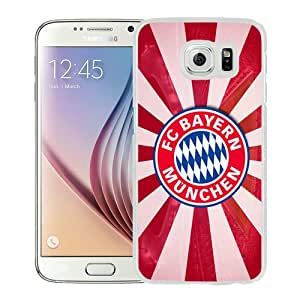 Popular Sell Bayern Munich 6 White Special Custom Made Samsung Galaxy S6 G9200 Cover Case