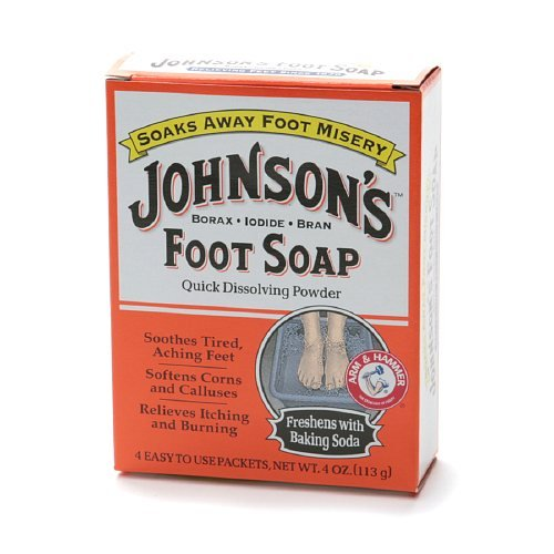 Price comparison product image Johnson & Johnson Foot Soap, 4 Ounce