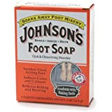 Johnson's Foot Soap Foot Soap, Packets 4 ea