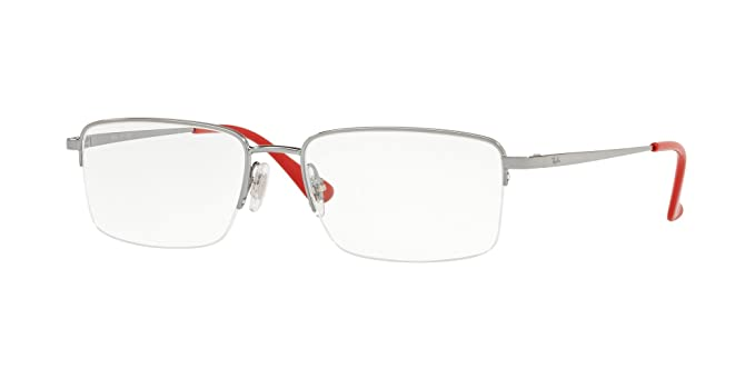 485e8a0a97 Image Unavailable. Image not available for. Colour  RAY-BAN RX6425I - 2502  EYEGLASSES GUNMETAL 53MM