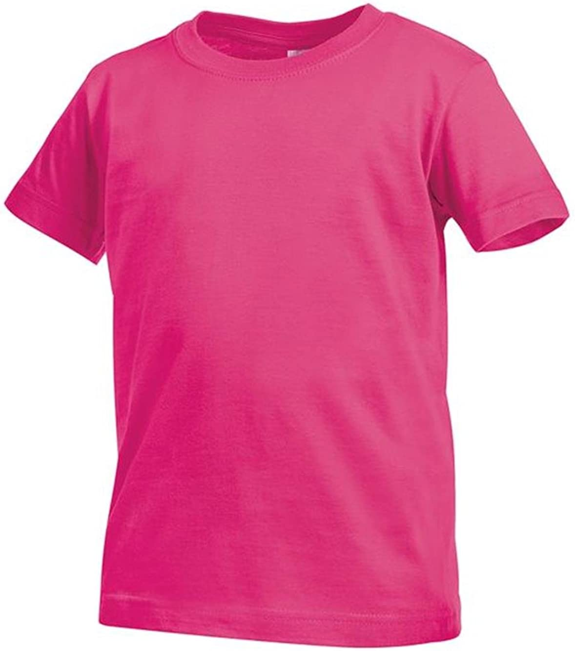 T-Shirt Bimbo Girocollo Maniche Corte Stedman