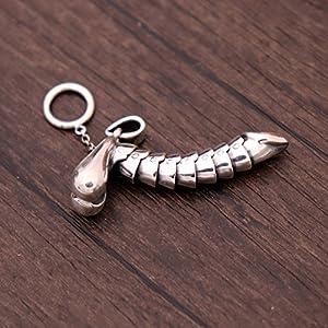 collar colgante en forma de pene erecto